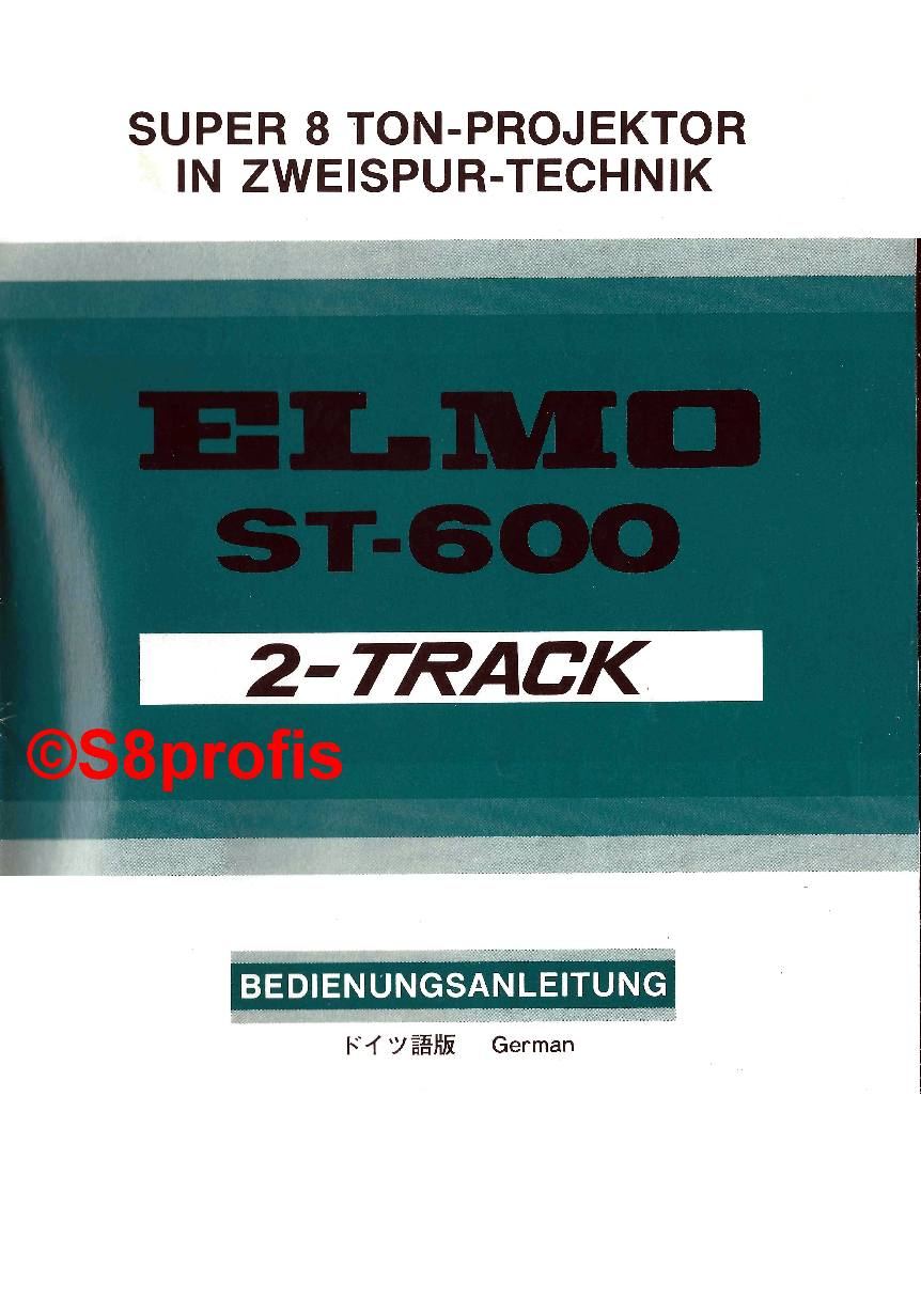 s8profis user manual elmo st 600 2 track rh s8profis de elmo p10 user manual elmo p30hd user manual