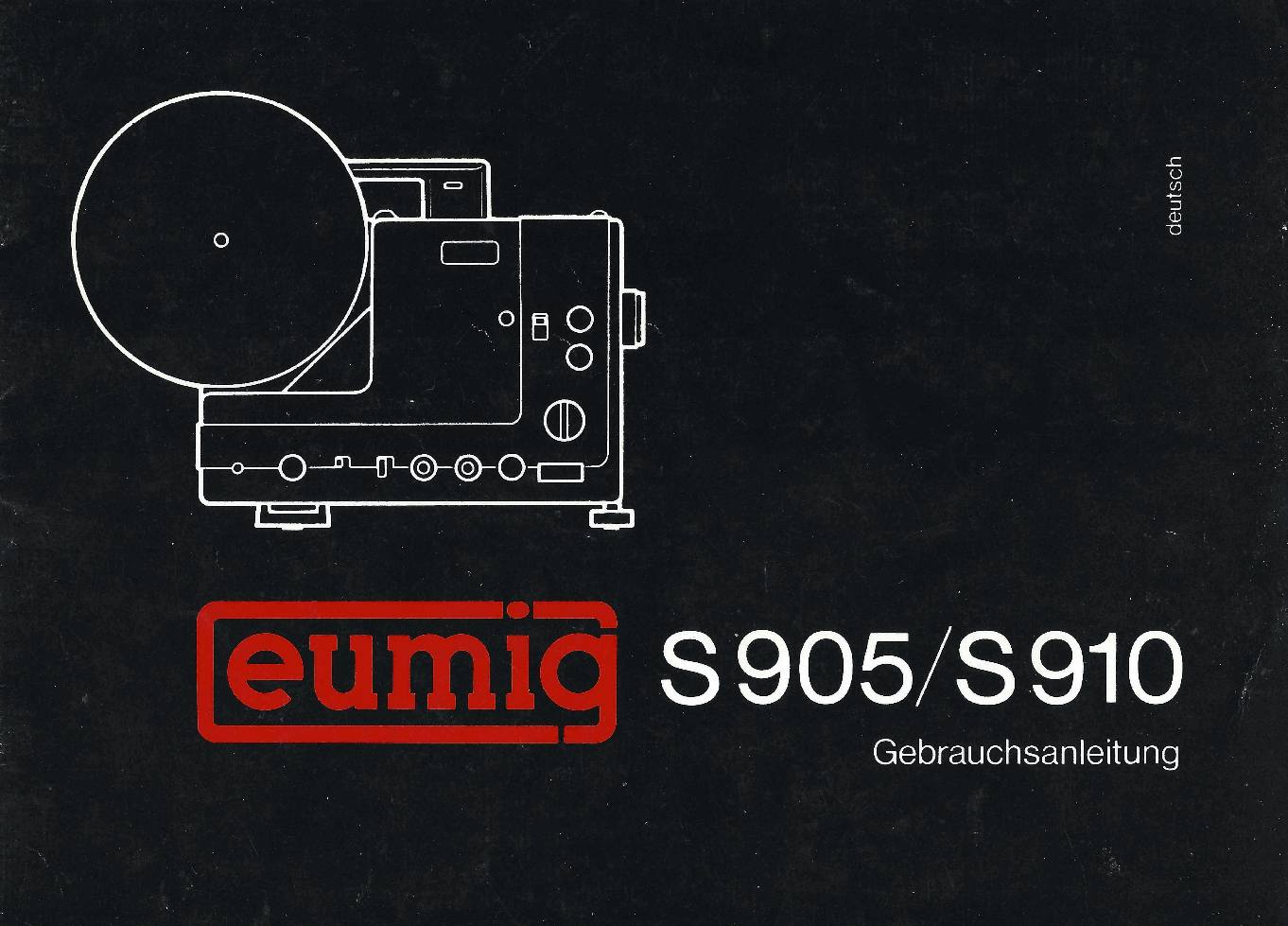 User manual Eumig S905/S910